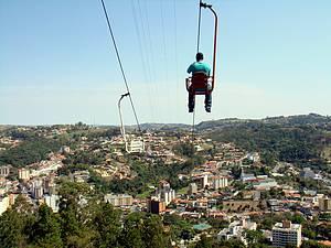 Telef�rico & Cristo Redentor: Programa cl�ssico descortina a cidade -