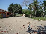 As ruas são todas assim..só areia!!