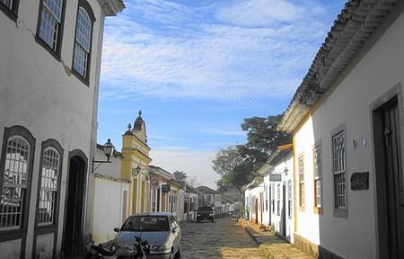 Uma bela vista da Serra de São José.