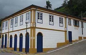 Casario: Construções remetem ao período colonial<br>