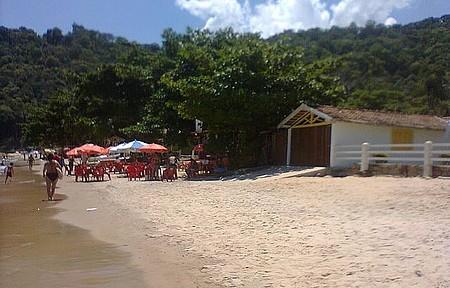 Praia Grande Ilha de Itacuruça