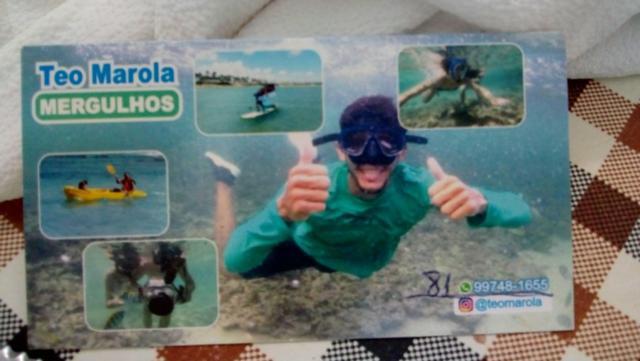 Esse cartão NÃO garante nenhuma foto
