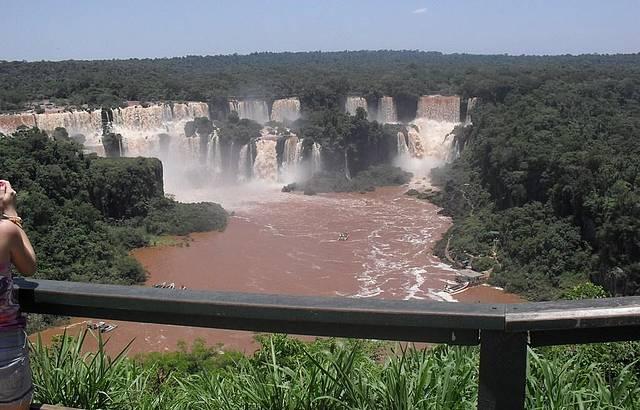 A deslumbrante Cataratas do Igua�u