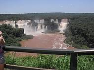 A deslumbrante Cataratas do Iguaçu