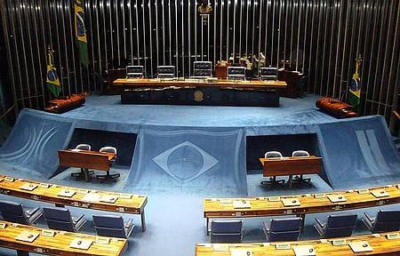 Plenario do Senado - Interior do Senado
