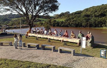 Parque da Redenção - Mesa dos Apostolos.