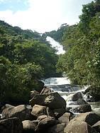 Cachoeira dos Pretos: Queda de 154 metros é uma das belas atrações -
