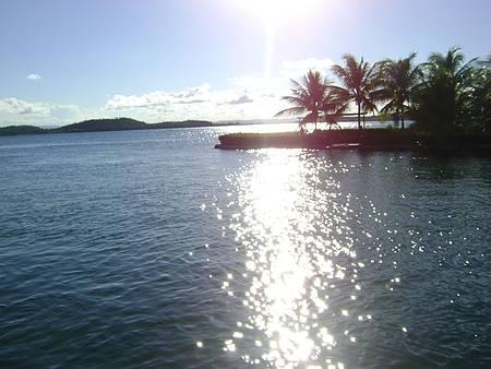 Peninsula de Marau, - Pôr do Sol na Volta do Passeio