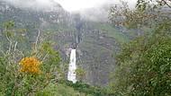 Cachoeira Casca D'Anta avistada de longe