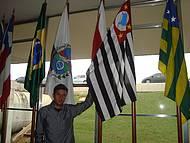 Visita ao Congresso Tradicional Foto das Bandeiras