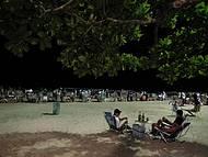 Uma noite na feirinha da praia em Camboriu !