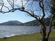 Vista parcial da Lagoa da Conceição