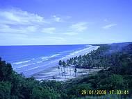 Mirante da Praia de Itacarezinho. Bela paisagem no final da tarde.