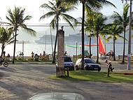 Movimentada Praia do Perequê