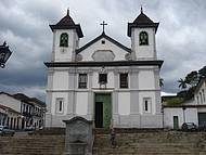Primeira catedral de Minas