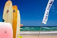 Paia de Geribá é ponto de encontro dos surfistas