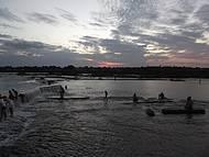 Praia de Pirapora Rio São Francisco