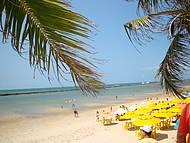 Vista maravilhosa dessa praia charmosa