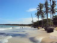 Praia muito linda, tranquila e limpa.