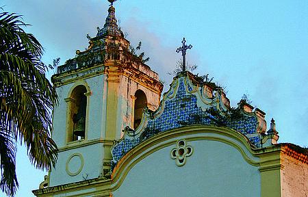 Cidades Históricas  - São Cristóvão e Laranjeiras - Construção dá boas vindas a quem chega na cidade