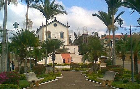 Praça da Matriz - Bucolismo se espalha por toda a cidade