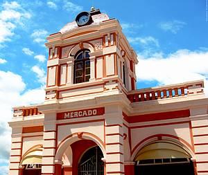 Mercado do Artesanato: Ponto de venda da bonita arte da região -
