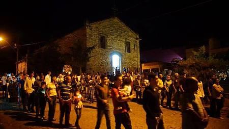 Igreja do Rosário - Construção é toda em pedra