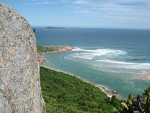 Subir a pedra do Urubu