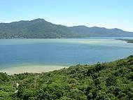 Vista do Mirante da Lagoa da Conceição