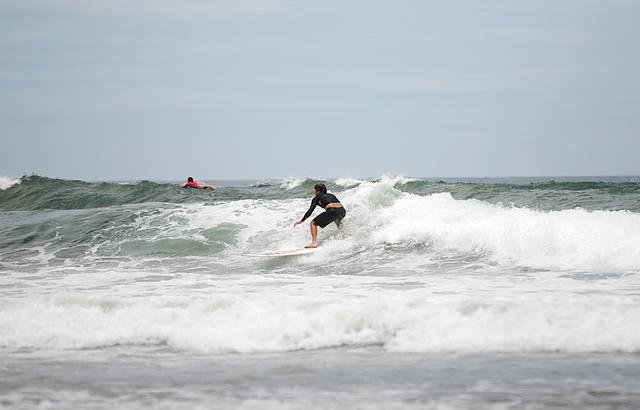 Boas ondas sempre presentes em Itamambuca
