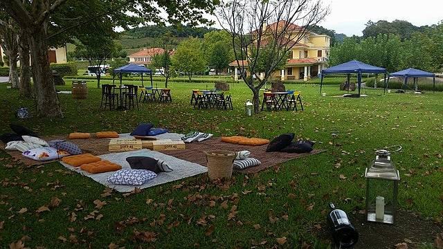 Wine Garden: espaço agradável ocupa área nobre