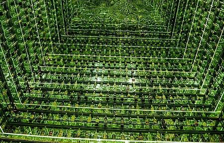 Museu da Cachaça - Instalação reúne 1.750 garrafas