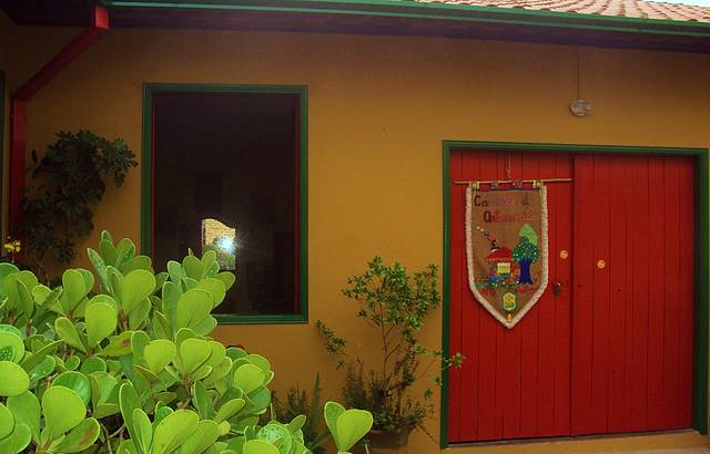 A casa do verdadeiro artesão.