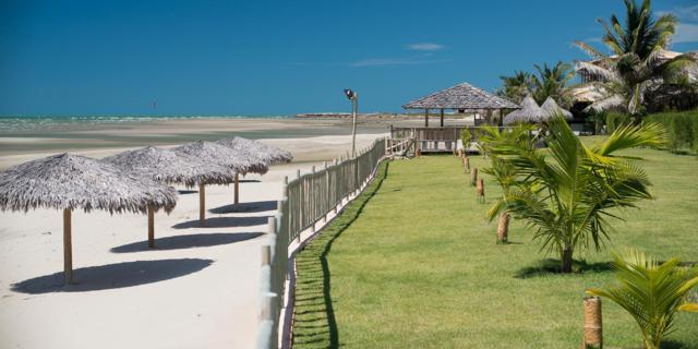 Vila Selvagem, na praia de Pontal do Maceió, em Fortim