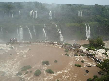 Cataratas de Foz do Iguaçu - Vista do Elevador Panorâmico