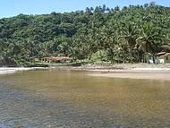 Vista do rio Jeribuca��