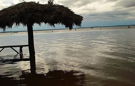 Fim de tarde na Praia do Prata