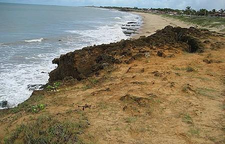 Praia de Touros RN - Praia de águas quentes.