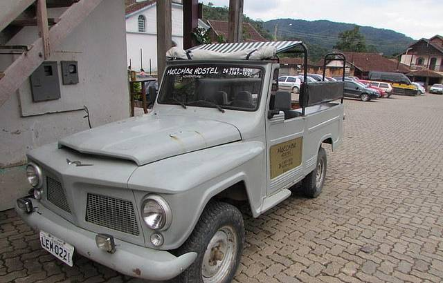 A Possante Rural Willys