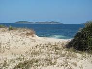 Um belo trecho da praia