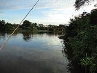 Visão da ponte sobre o Rio Pardo