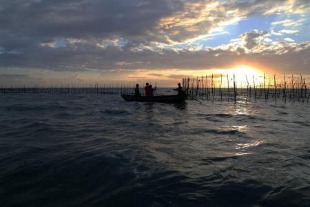 Praias do Sol - Curral de peixes é comum na região