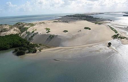 Dunas de Galinhos - Passeio de canoa pelo manguezal