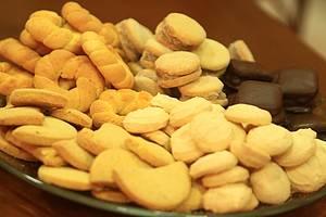 Guloseimas: Biscoitos variados adoçam o passeio<br>