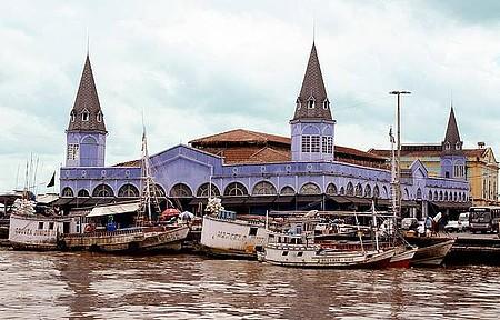 Mercado Ver-o-Peso - Mercado é um dos cartões-postais da capital