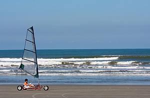 Carro a vela: Opção para curtir os bons ventos!<br>