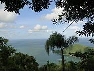 Vista de Laranjeiras no Parque Unipraias