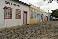 Centro da cidade de Goiás Velho
