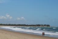 Praia vizinha a Porto de Galinhas