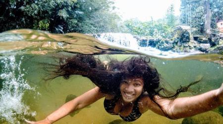 Cascatinha da Caneca Fina - Natureza preservada, água limpa
